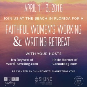 faithful women's writing retreat